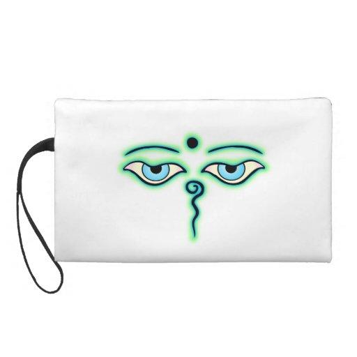 Light Green teal Buddha Eyes.png Wristlets
