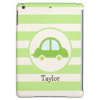 Light Green Toy Car iPad Air Covers