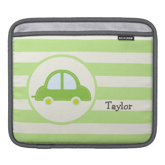 Light Green Toy Car Sleeve For iPads