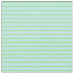 [ Thumbnail: Light Green & Turquoise Lined/Striped Pattern Fabric ]