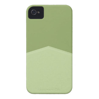 Light Green Two Tone Pointed iPhone 4 Case