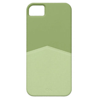 Light Green Two Tone Pointed iPhone SE/5/5s Case
