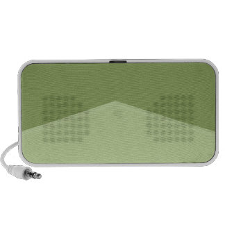 Light Green Two Tone Pointed Notebook Speakers