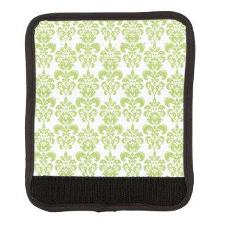 Light Green Vintage Damask Pattern 2 Handle Wrap