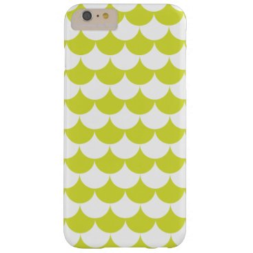 Beach Themed Light Green Waves Pattern Nautical Barely There iPhone 6 Plus Case