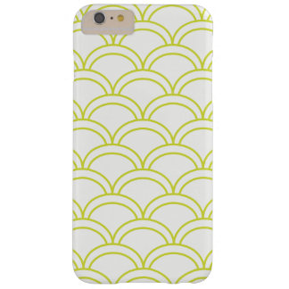 Light Green Waves Pattern Nautical Barely There iPhone 6 Plus Case