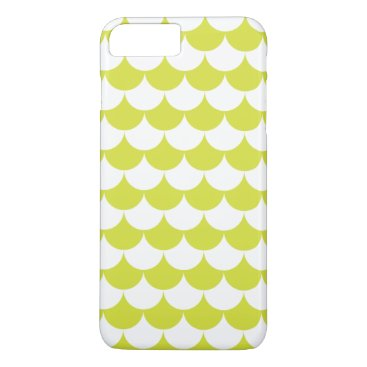 Beach Themed Light Green Waves Pattern Nautical iPhone 7 Plus Case
