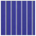 [ Thumbnail: Light Grey and Blue Colored Stripes Fabric ]