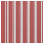 [ Thumbnail: Light Grey and Brown Pattern Fabric ]