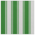 [ Thumbnail: Light Grey and Dark Green Colored Pattern Fabric ]