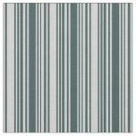 [ Thumbnail: Light Grey and Dark Slate Gray Colored Pattern Fabric ]