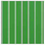 [ Thumbnail: Light Grey and Green Lined/Striped Pattern Fabric ]