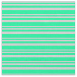 [ Thumbnail: Light Grey and Green Pattern Fabric ]