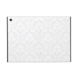 Light Grey Damask pattern iPad Mini Case