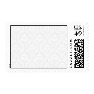 Light Grey Damask pattern Stamp