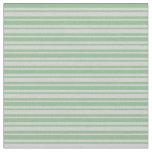 [ Thumbnail: Light Grey & Dark Sea Green Lines Fabric ]