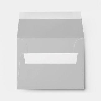 Light Grey Gray A2 Blank Envelopes