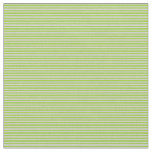 [ Thumbnail: Light Grey & Green Colored Lines Fabric ]