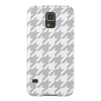 Light Grey Houndstooth Galaxy S5 Cover