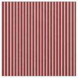 [ Thumbnail: Light Grey & Maroon Colored Pattern of Stripes Fabric ]