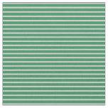 [ Thumbnail: Light Grey & Sea Green Lines Fabric ]
