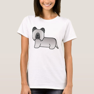 Light Grey Skye Terrier T-Shirt