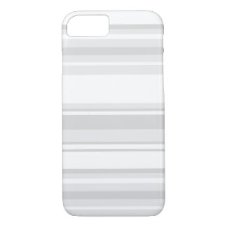 Light grey stripes iPhone 8/7 case