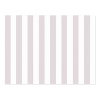 Light Grey Stripes Postcard