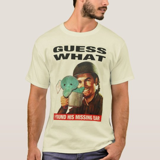 (Light) Guess What WWII Poster Tee
