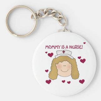 Light Hair Mommy is a Nurse Keychain