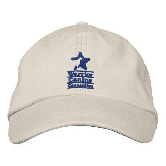 Light hat, navy WCC logo Embroidered Baseball Hat