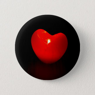 Light heart . pinback button