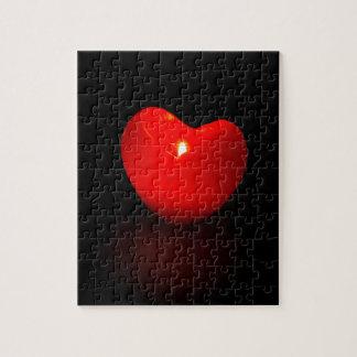 Light heart . puzzle