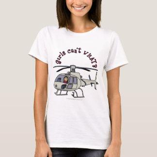 Light Helicopter Girl T-Shirt