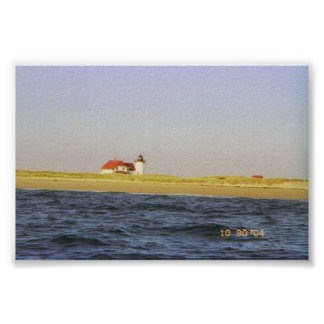 Light House at Provincetown Poster