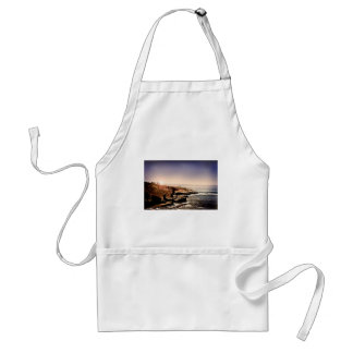 Light House by the Ocean Adult Apron