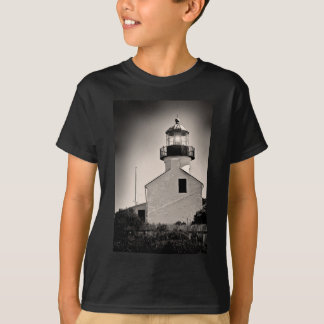 Light House - Cabrillo in BW T-Shirt