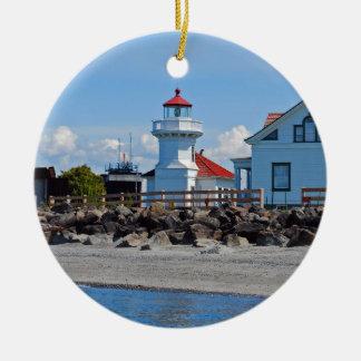 Light House Ceramic Ornament