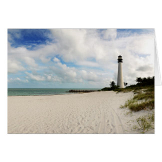 Light house in Miami - Card