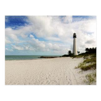 Light house in Miami - Postcard