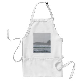 Light House in the Mist Adult Apron