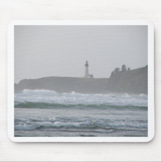 Light House in the Mist Mouse Pad