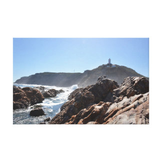 Light House - Mossel Bay Canvas Print