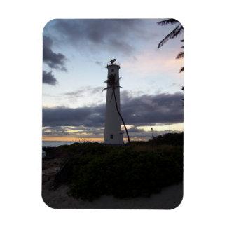 Light House on Point Rectangular Photo Magnet