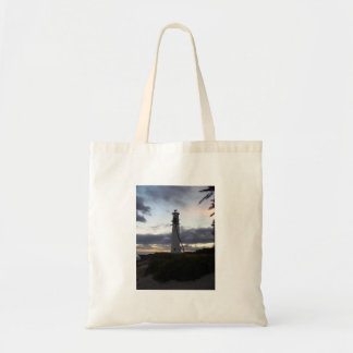 Light House on Point Tote Bag