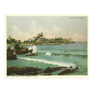 Light House Point Postcard