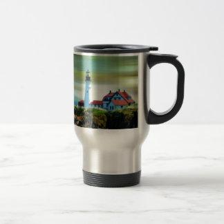 Light House Portland Headlight Travel Mug