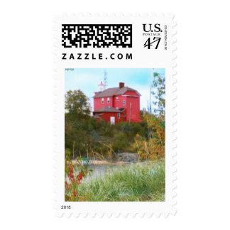 Light House Postage Stamp