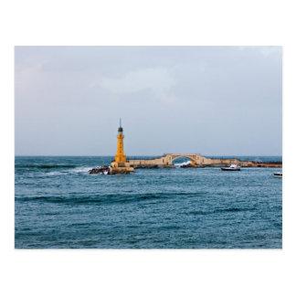 Light house postcard