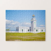 Light House Puerto Rico. Jigsaw Puzzle